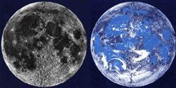 Лунные «океаны» и «моря»