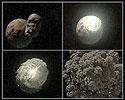формирование Луны